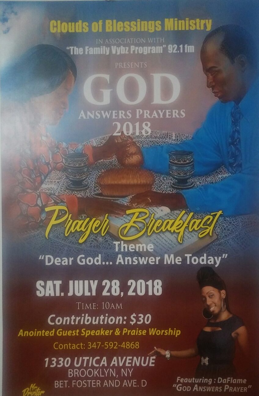 GOD ANSWERS PRAYER 2018 @ GRACE DELIVERANCE RADIO HALL